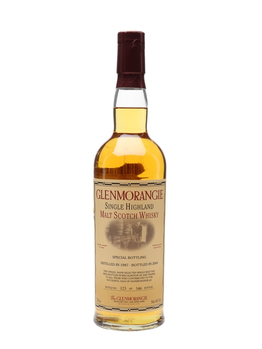 Glenmorangie 1987 / 17 Year Old / Special Bottling Highland Whisky