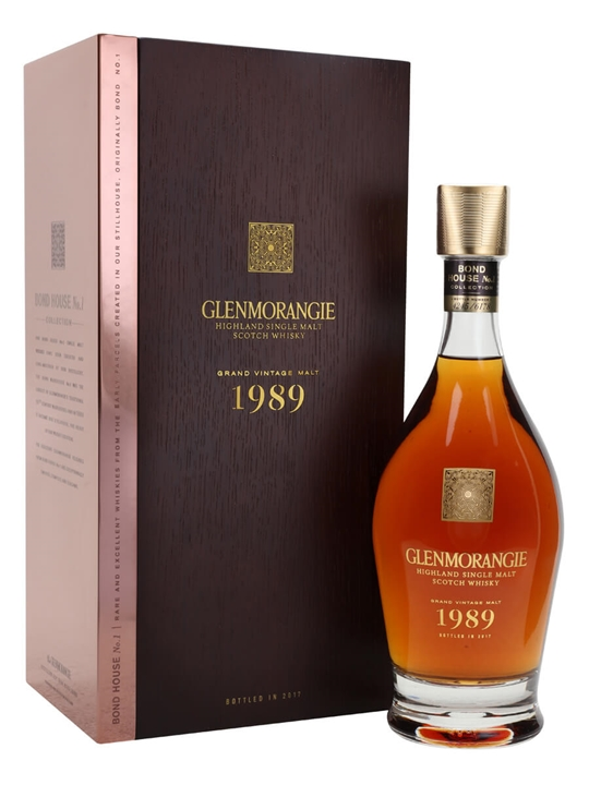 Glenmorangie Grand Vintage Malt 1989 Highland Whisky