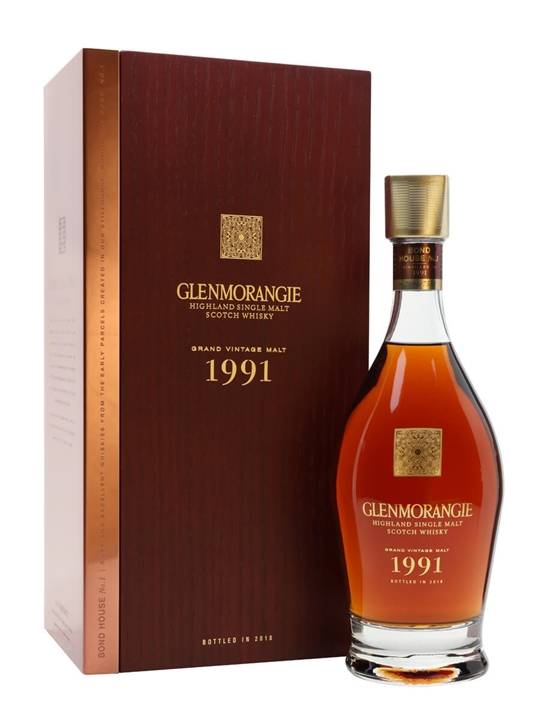 Glenmorangie Grand Vintage 1991 Highland Single Malt Scotch Whisky