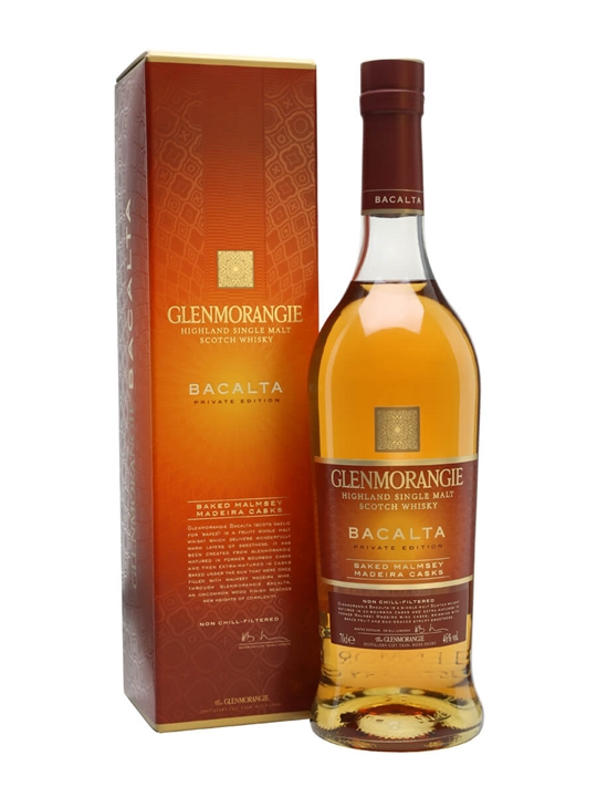 Glenmorangie Bacalta Highland Single Malt Scotch Whisky