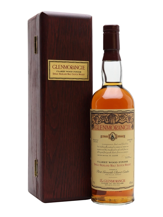 Glenmorangie Claret Finish Highland Single Malt Scotch Whisky
