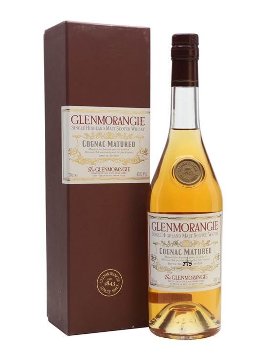Glenmorangie Cognac Matured Highland Single Malt Scotch Whisky