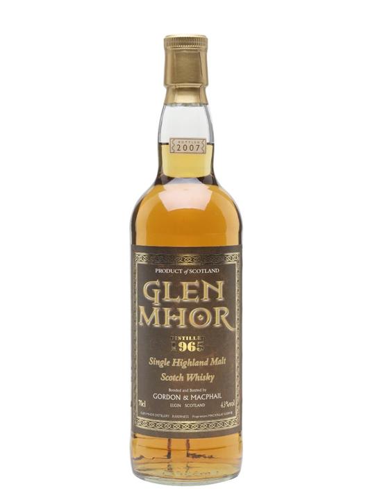 Glen Mhor 1965 / Gordon & Macphail Speyside Single Malt Scotch Whisky