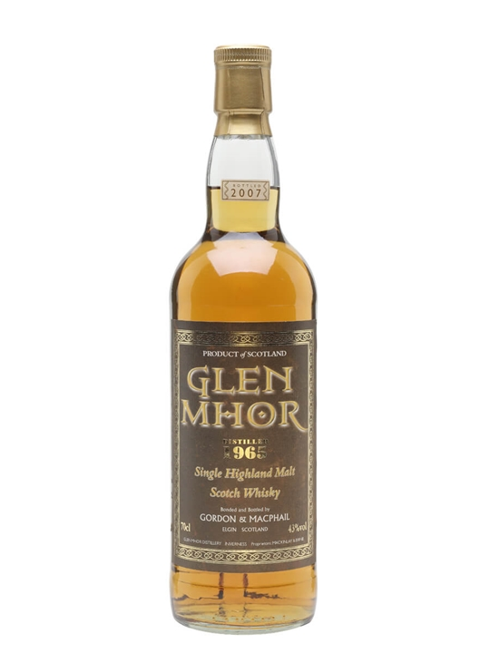 Glen Mhor 1965 / Bot.2007 / Gordon & MacPhail Highland Whisky