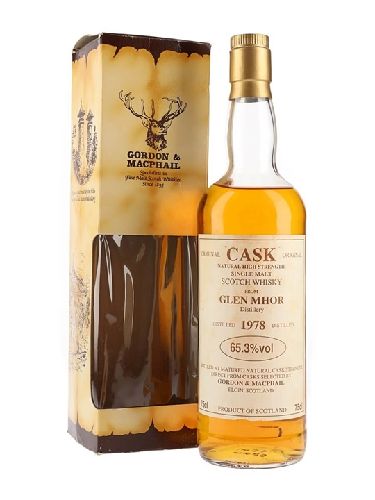 Glen Mhor 1978 / Gordon & MacPhail Highland Single Malt Scotch Whisky