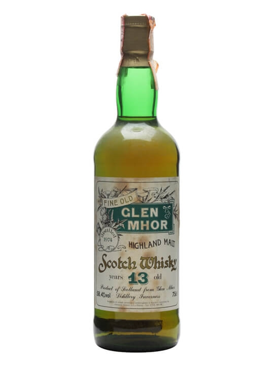 Glen Mhor 1974 / 13 Year Old Speyside Single Malt Scotch Whisky