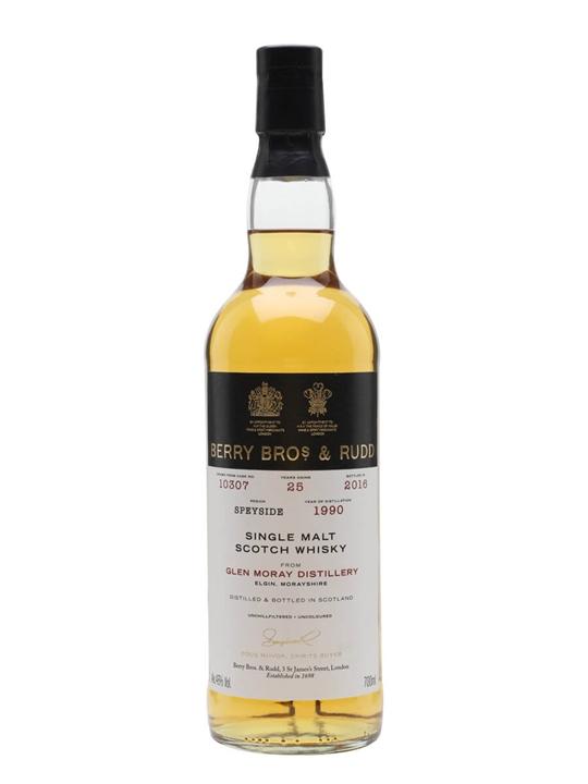 Glen Moray 1990 / 25 Year Old / Berry Bros & Rudd Speyside Whisky