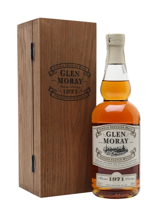 Glen Moray 1971 / 28 Year Old Speyside Single Malt Scotch Whisky