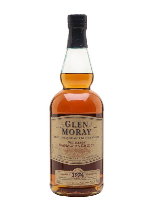 Glen Moray 1974 / 28 Year Old / Manager's Choice Speyside Whisky