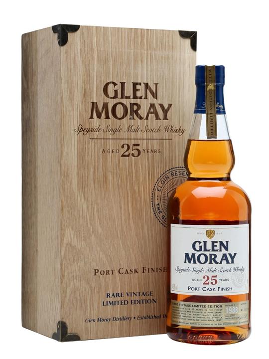 Glen Moray 1988 / 25 Year Old / Port Finish / Batch 3 Speyside Whisky