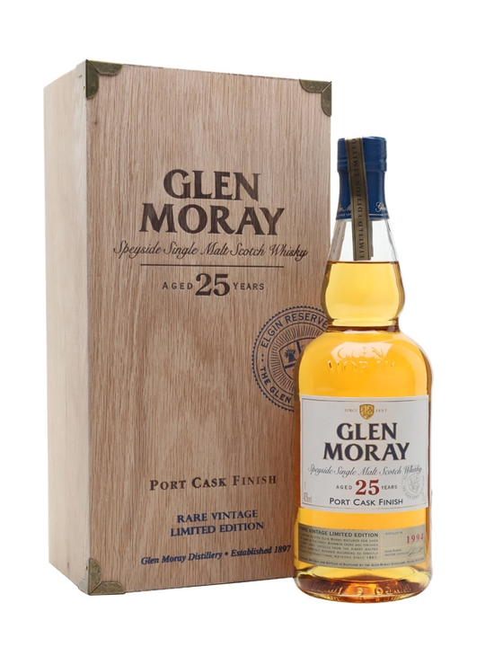 Glen Moray 1994 / 25 Year Old / Port Finish Speyside Whisky