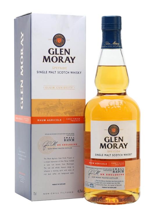 Glen Moray Rhum Agricole Finish Project Speyside Whisky