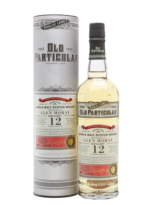 Glen Moray 2008 / 12 Year Old / Old Particular Speyside Whisky