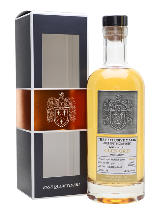 Glen Ord 2006 / 11 Year Old / The Exclusive Malts Highland Whisky