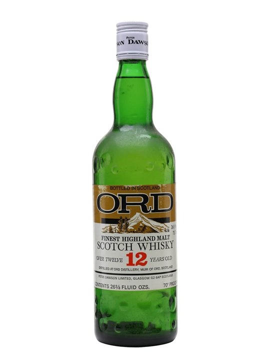 Ord 12 Year Old / Bot.1970s Highland Single Malt Scotch Whisky