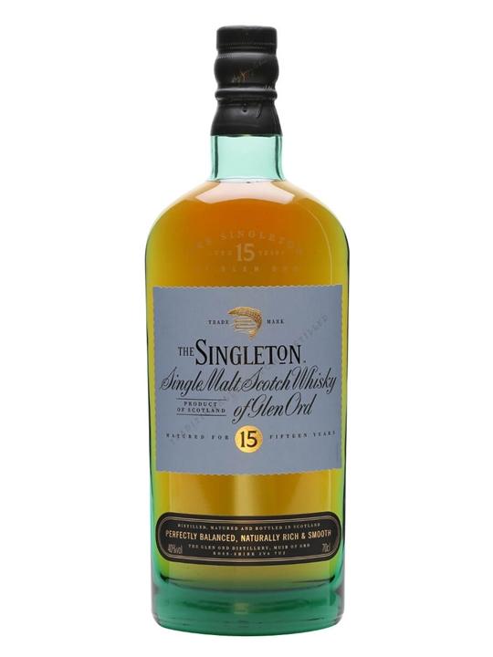 Singleton Of Glen Ord 15 Year Old Highland Single Malt Scotch Whisky