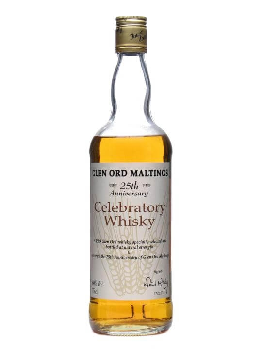Glen Ord Maltings 1969 / 25th Anniversary Highland Whisky