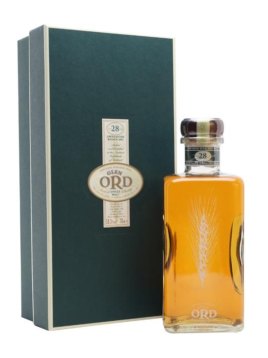 Glen Ord 28 Year Old Highland Single Malt Scotch Whisky