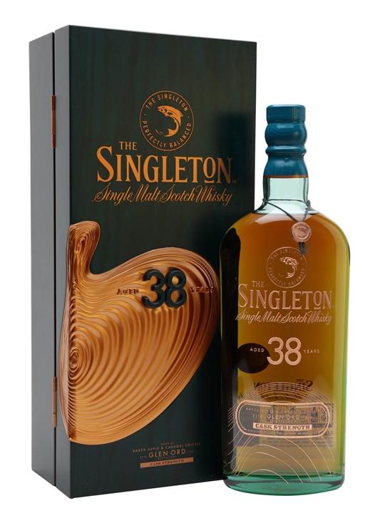 The Singleton Of Glen Ord 38 Year Old Highland Whisky