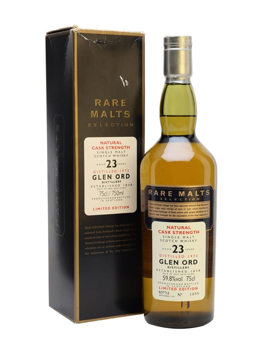 Glen Ord 1973 / 23 Year Old / Rare Malts Highland Whisky