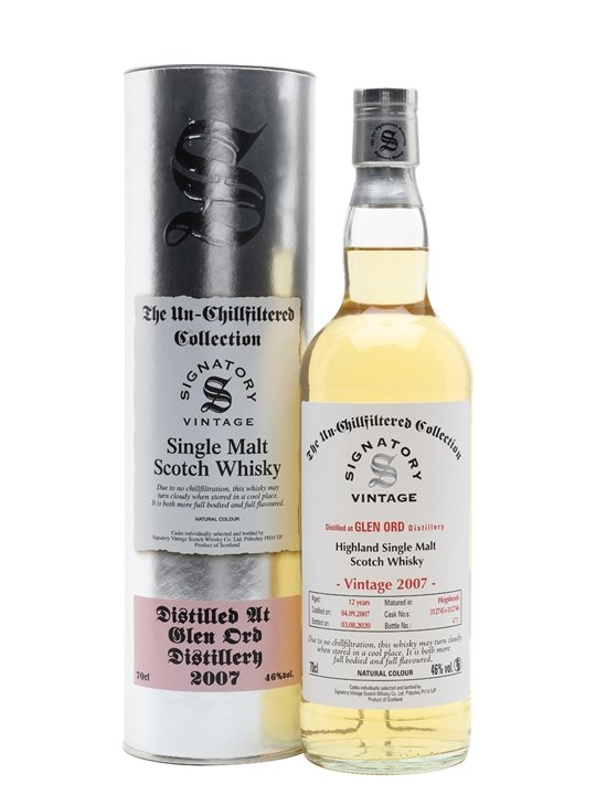 Glen Ord 2007 / 12 Year Old / Signatory Highland Whisky