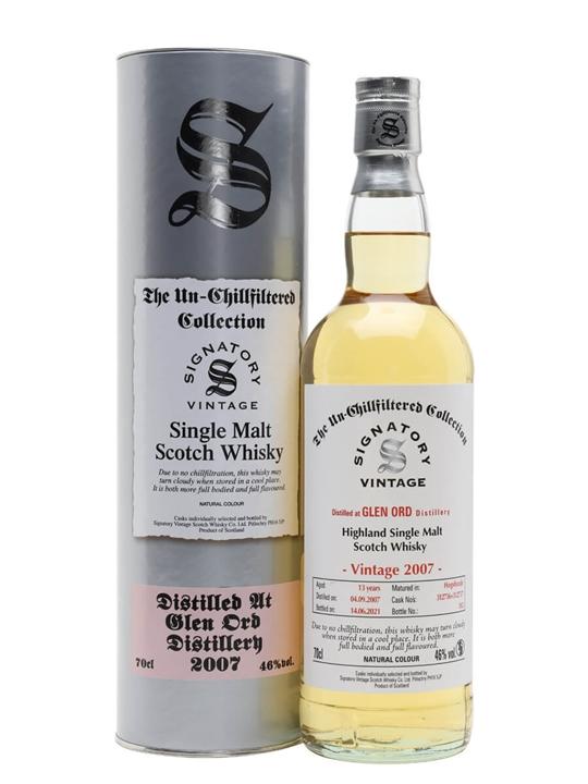 Glen Ord 2007 / 13 Year Old / Signatory Highland Whisky