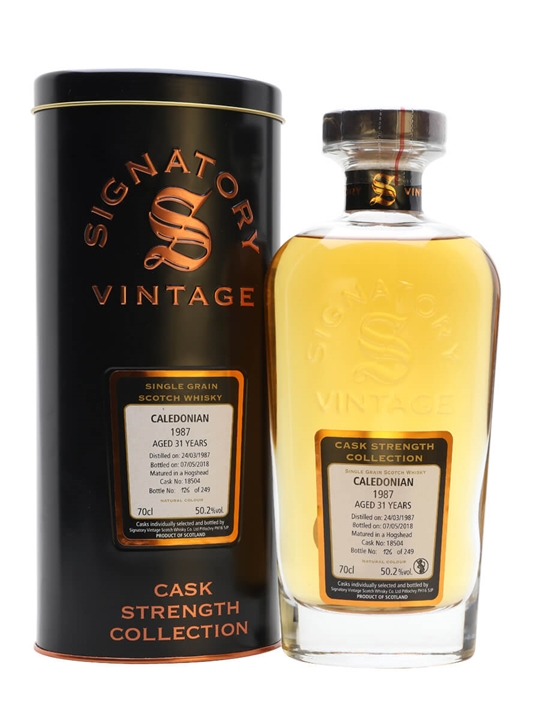 Caledonian 1987 / 31 Year Old / Signatory Single Grain Scotch Whisky