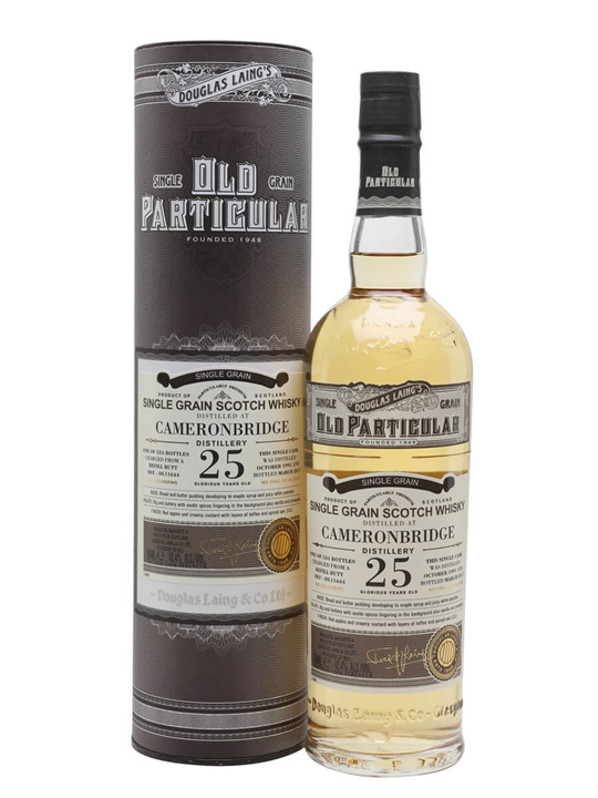 Cameronbridge 1991 / 25 Year Old / Old Particular Single Whisky
