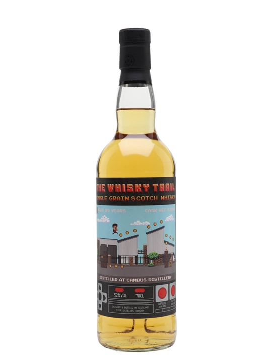 Cambus 1990 / 29 Year Old / Whisky Trail Video Games Single Whisky