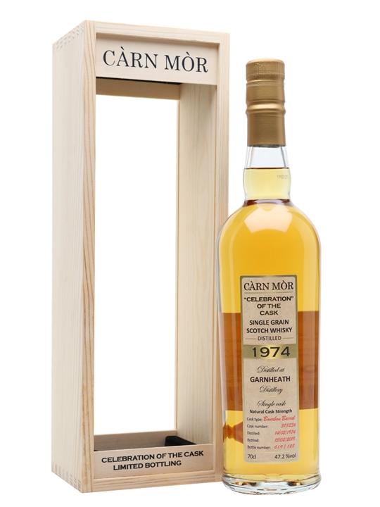 Garnheath 1974 / Carn Mor Celebration of the Cask Lowland Whisky