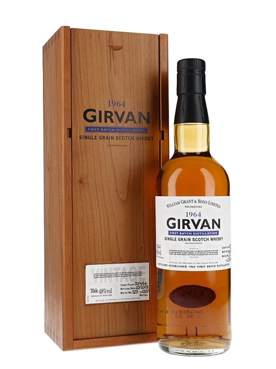 Girvan 1964 / 38 Year Old / First Batch Distillation Single Whisky