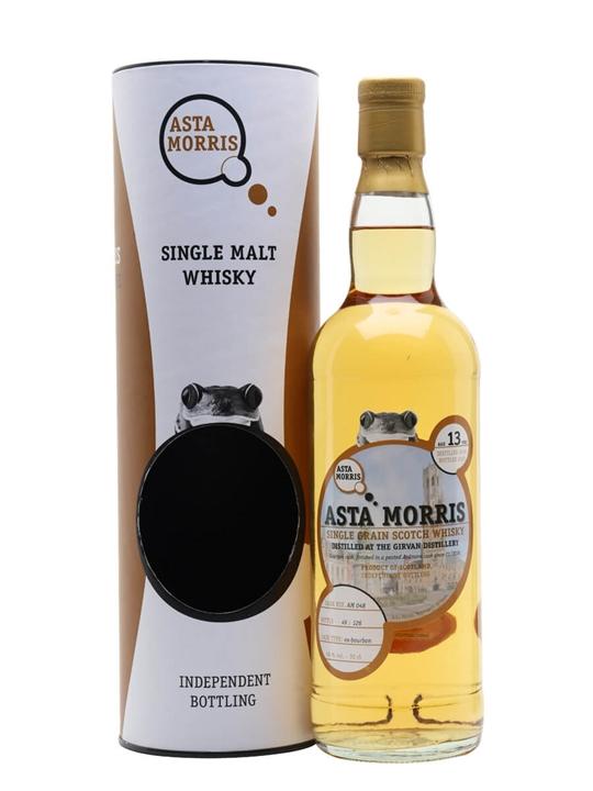 Girvan 2006 / 13 Year Old / Asta Morris Lowland Whisky
