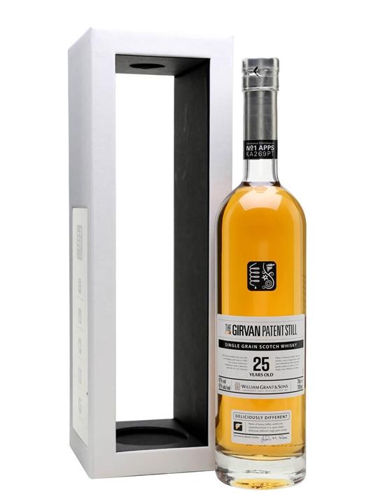 Girvan Patent Still 25 Year Old Single Grain Scotch Whisky