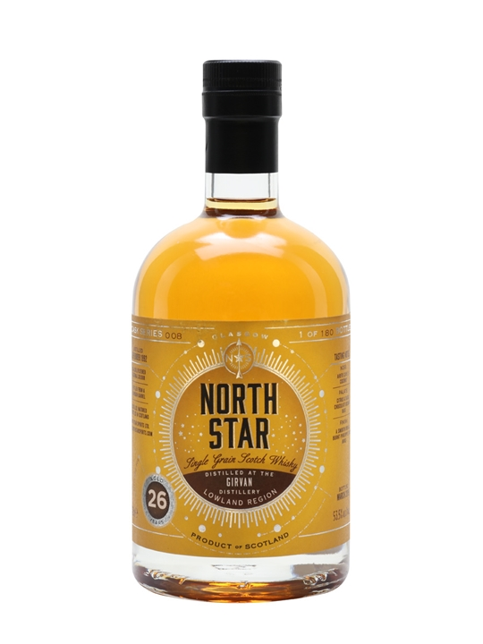 Girvan 1992 / 26 Year Old / North Star Single Grain Scotch Whisky