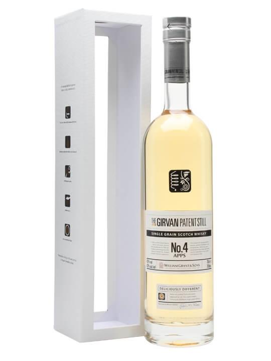 Girvan Patent Still No.4 Apps Single Grain Scotch Whisky