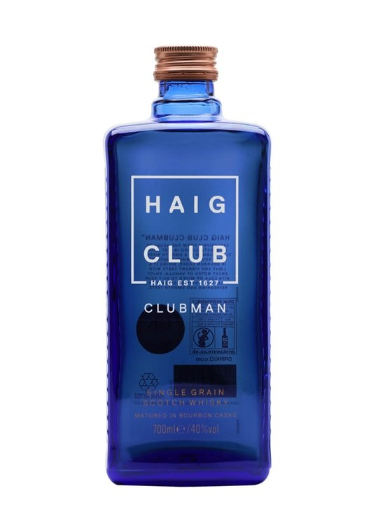 Haig Club Clubman Lowland Single Grain Scotch Whisky