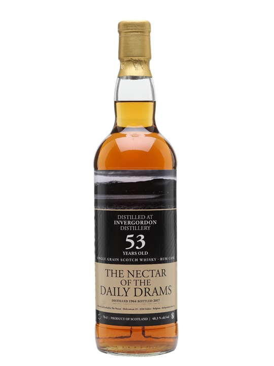 Invergordon 1964 / 53 Year Old / Daily Dram Single Grain Scotch Whisky
