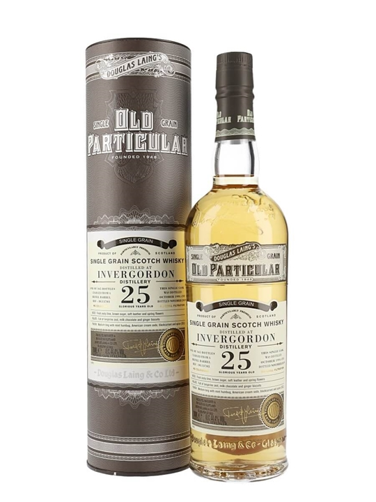 Invergordon 1994 / 25 Year Old / Old Particular Single Whisky