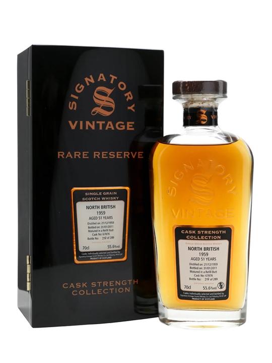 North British 1959 / 51 Year Old / Rare Reserve Lowland Whisky