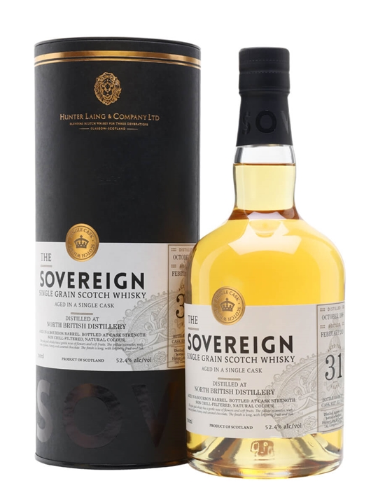 North British 1988 / 31 Year Old / Sovereign Single Whisky