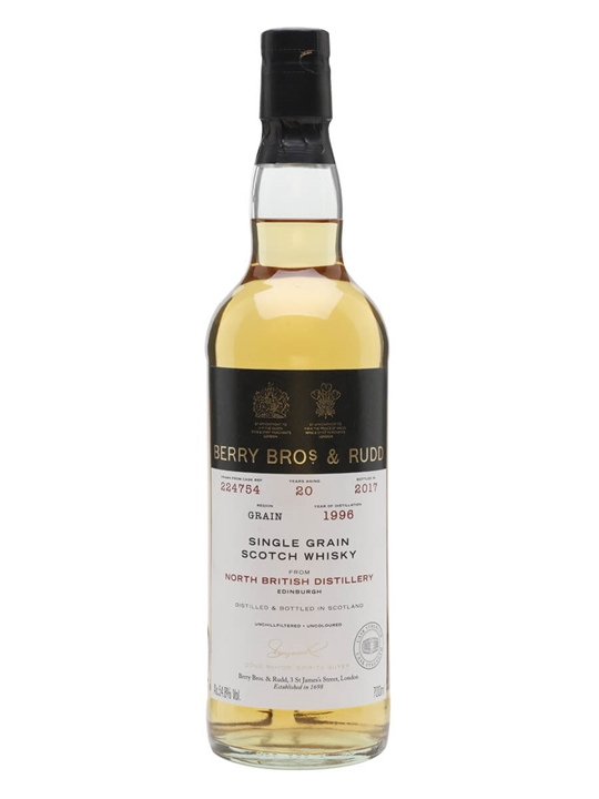 North British 1996 / 20 Year Old / Berry Bros & Rudd Single Whisky