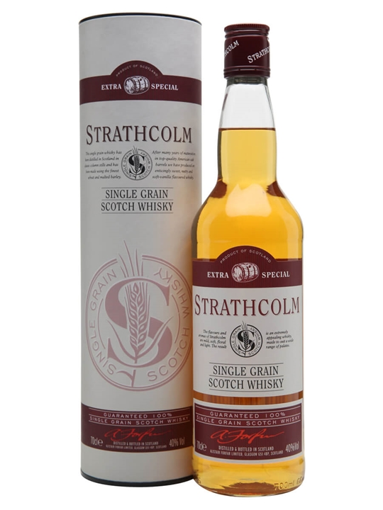 Strathcolm Extra Special Single Grain Scotch Whisky