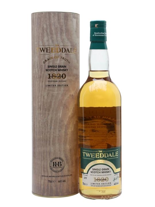 The Tweeddale Grain of Truth Single Grain Scotch Whisky
