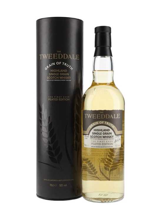 Tweeddale Peated Grain Of Truth Highland Single Grain Whisky