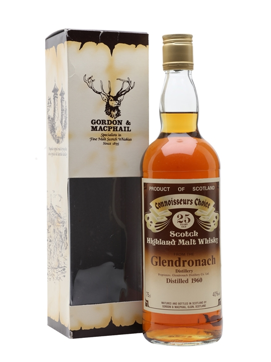 Glendronach 1960 / 25 Year Old / Connoisseurs Choice Highland Whisky