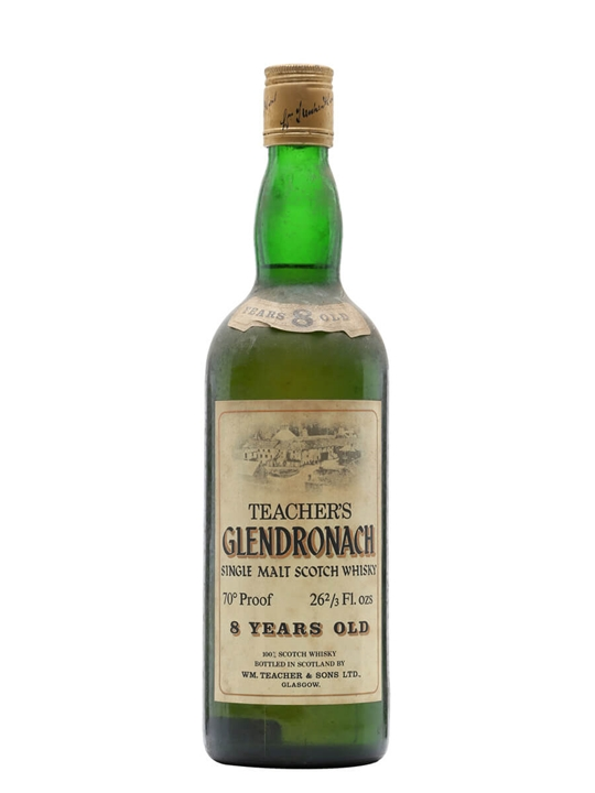 Glendronach 8 Year Old  Bot.1970s Highland Single Malt Scotch Whisky