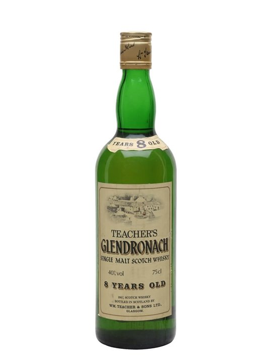 Glendronach 8 Year Old / Bot.1980s Highland Single Malt Scotch Whisky