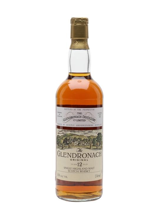 Glendronach 12 Year Old / Original / Bot.1980s Highland Whisky