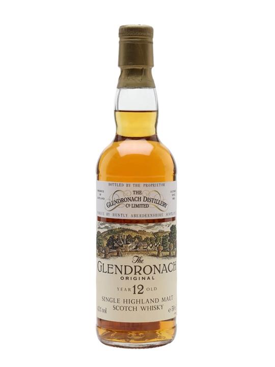 Glendronach 12 Year Old / Original / Bot.1980s / Half Litre Highland Whisky