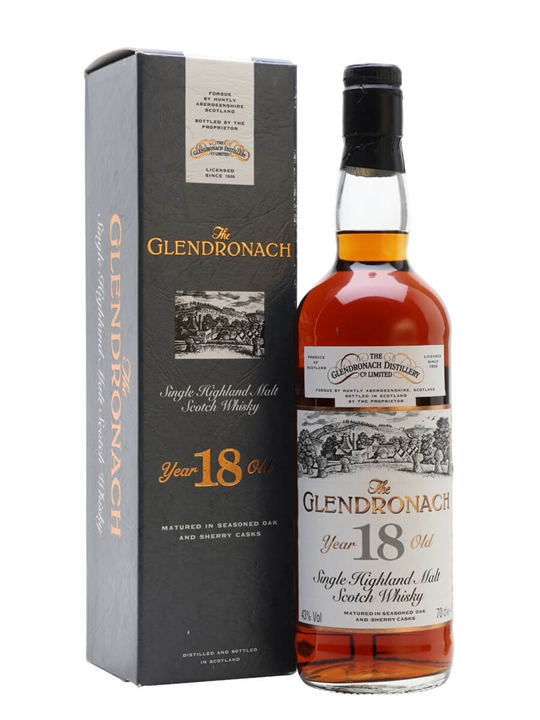 Glendronach 1976 / 18 Year Old / Sherry Cask Highland Whisky